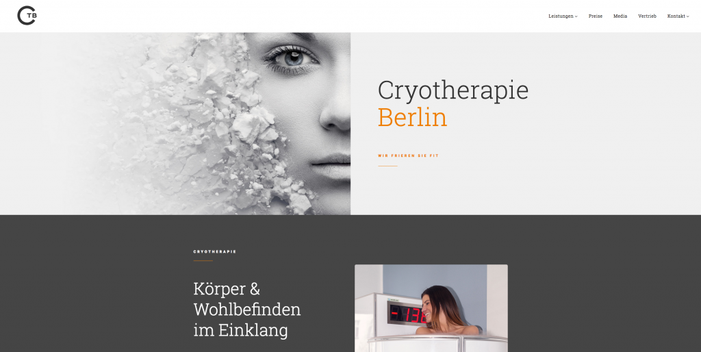 CTB West – Cryotherapie West