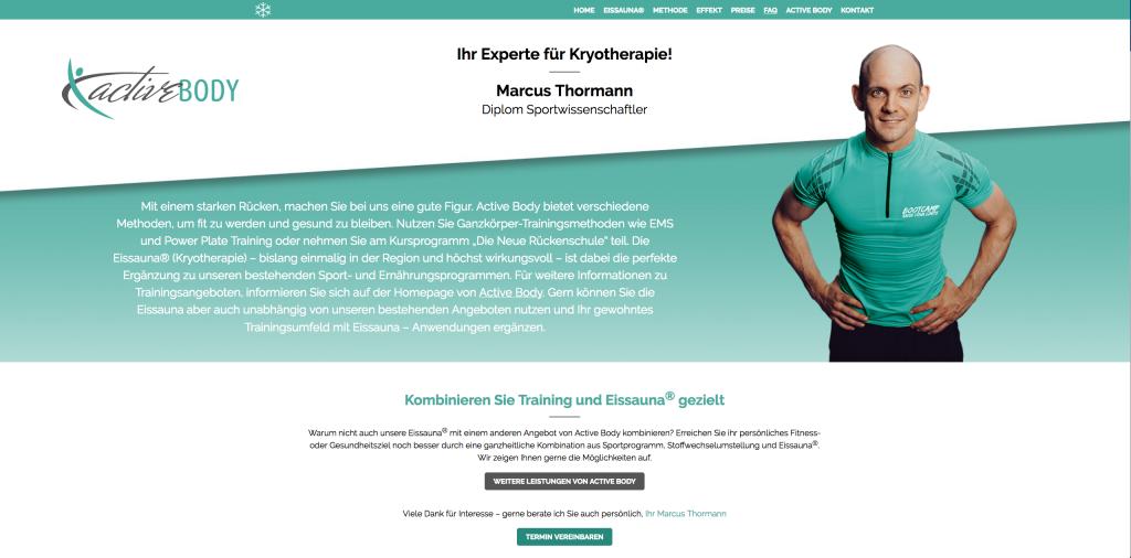 Active Body – Kältetherapie Bergisch Gladbach
