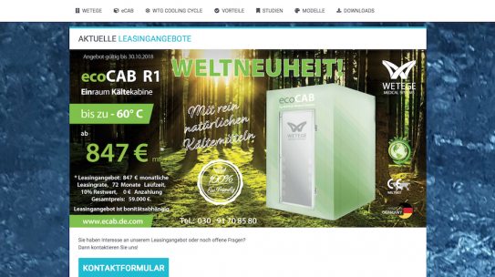 WETEGE Medical Systems – eCAB
