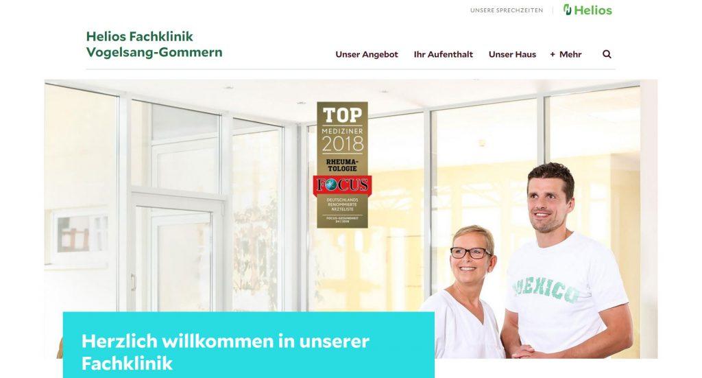 Helios Fachklinik Vogelsang-Gommern