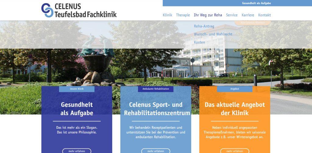 Orthopädie Klinik Teufelsbad Blankenburg