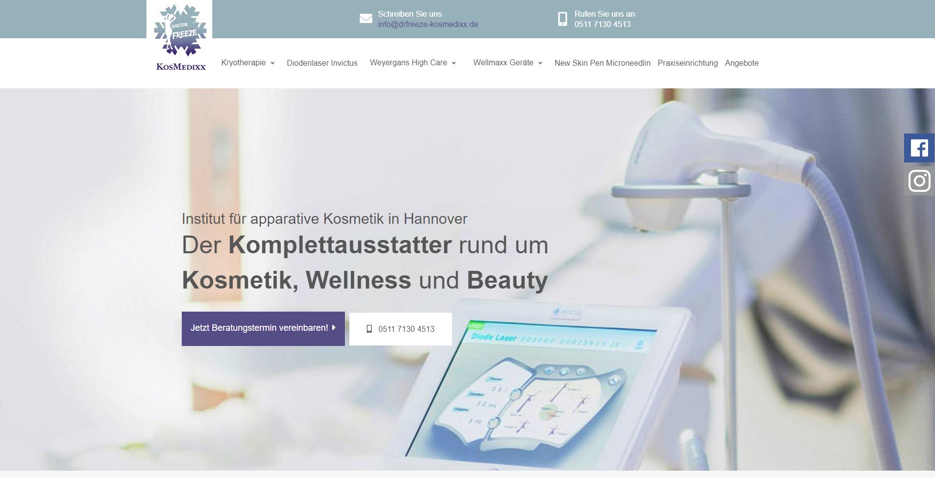 Dr. Freeze KosMedixx aus Hannover