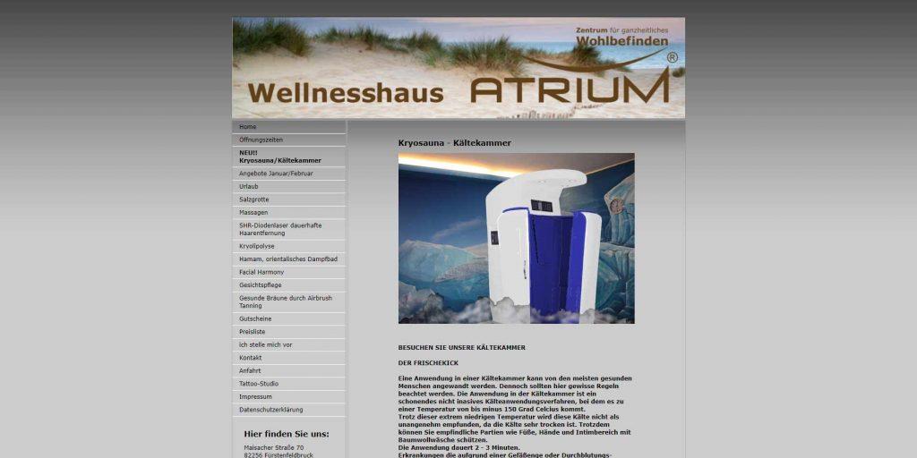 Wellnesshaus Atrium Fürstenfeldbrück